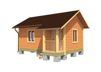 Дачный дом 3