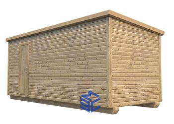 Хозблок деревянный_стандарт